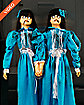 4 Ft Evil Twins Animatronics - Decorations
