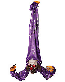 3 Ft Upside Down Hanging Clown - Decorations
