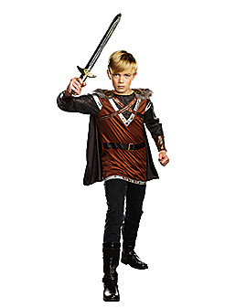 Kids Warrior Knight Costume