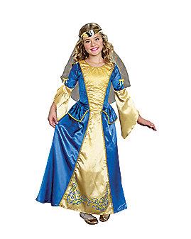 Kids Renaissance Princess Costume
