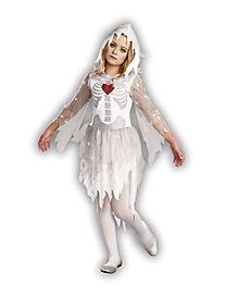 Kids Sweet N Spooky Ghost Skeleton Costume