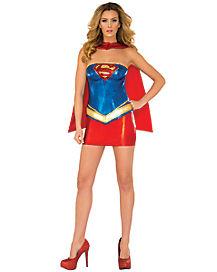 Adult Supergirl Deluxe Costume - DC Comics