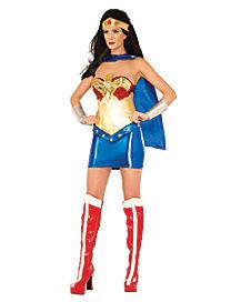 Adult Wonder Woman Costume Deluxe - DC Super Hero Girls