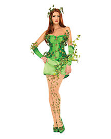 Adult Poison Ivy Costume Theatrical - Batman