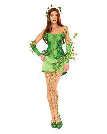 Adult Poison Ivy Costume Theatrical - Batman