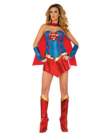 Adult Supergirl Costume Theatrical - DC Comics
