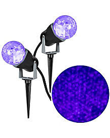 Purple Fire and Ice Spot Light - 2 Pack