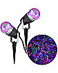 Purple Multi Color Fire and Ice Spot Light - 2 Pack