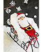 Baby Bunting Knitted Santa Costume