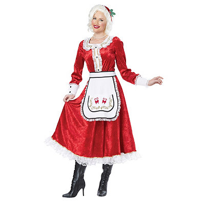 Adult Cheery Mrs Claus Costume