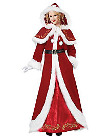 Adult Mrs Claus Costume - Theatrical