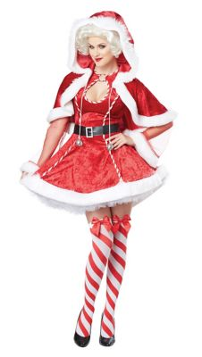Adult Sexy Mrs Claus Costume