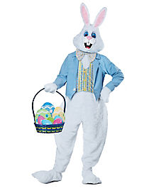 Adult Easter Bunny Costume - Deluxe