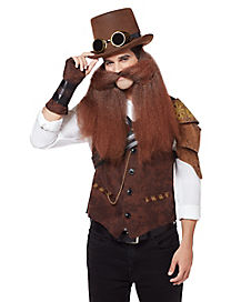 Long Steampunk Beard