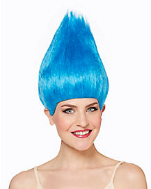 Blue Pointed Wig