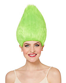 Green Pointed Wig
