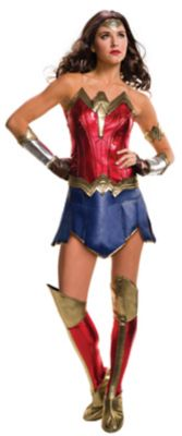 Adult Wonder Woman Costume - Batman v. Superman: Dawn of Justice - Spirithalloween.com - 웹