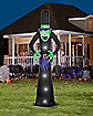 12 Ft Tall Light Up Witch Inflatable - Decorations