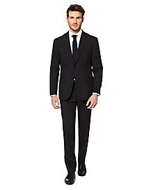 Adult Black Knight Suit Costume