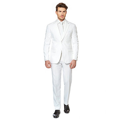 1930s Style Mens Suits Adult White Knight Suit Costume $99.99 AT vintagedancer.com