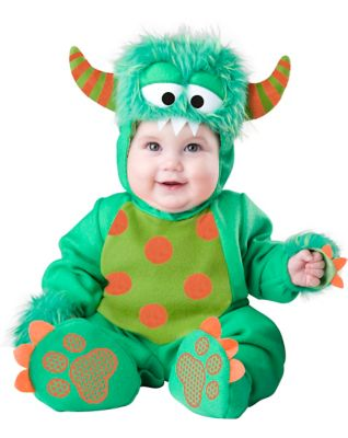Baby Green Faux Fur-Trimmed Monster Costume  sc 1 st  Spirit Halloween & Baby Owl Costume - Spirithalloween.com