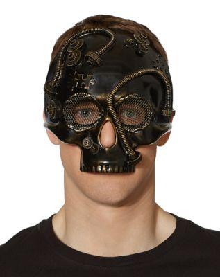 Retro Sunglasses | Vintage Glasses | New Vintage Eyeglasses Steampunk Skull Mask by Spirit Halloween $19.99 AT vintagedancer.com