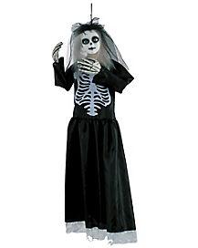 3 Ft Hanging Skeleton Doll Animatronics - Decorations