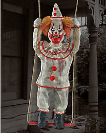 3.5 Ft Happy Swinging Clown Animatronics - Decorations
