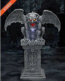 3.5 Ft Gargoyle Animatronics - Decorations