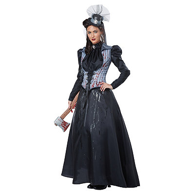 Victorian Steampunk Clothing & Costumes for Ladies Adult Axe Murderess Costume $79.99 AT vintagedancer.com