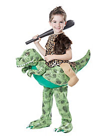Toddler Dino Rider Costume