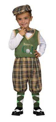 1920s Children Fashions: Girls, Boys, Baby Costumes Toddler Lil Golfer Costume by Spirit Halloween $34.99 AT vintagedancer.com