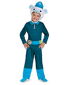 Toddler Captain Barnacles One Piece Costume - Octonauts