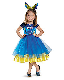 Toddler Dory Tutu Costume Deluxe - Finding Dory