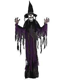 3 Ft Hanging Creepy Witch - Decorations