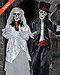 Bride and Groom Animatronics - Decorations