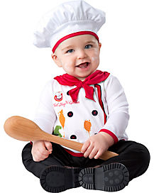 Baby Hugs n' Quiches Chef Costume