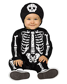 Baby Bones Skeleton Costume