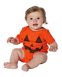 Baby Pumpkin One Piece Costume