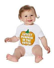 Baby Pumpkin Patch One Piece
