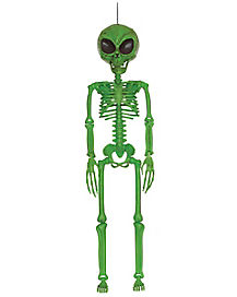 3 Ft Galactic Green Alien - Decorations
