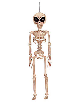 3 Ft Alien Skeleton - Decorations