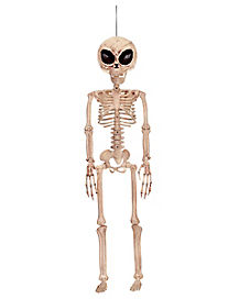 3 Ft Alien Skeleton - Decorations