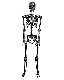5 Ft Pose and Stay Black Skeleton - Decorations