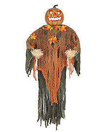 5 ft hanging pumpkin man decorations - Halloween Hanging Decorations