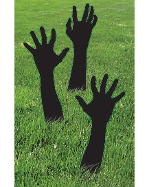 1 Ft Zombie Shadow Hands - Decorations