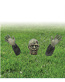 1.5 Ft Zombie Ground Breaker - Decorations