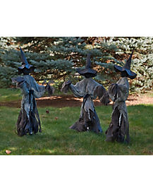 2.5 Ft Lawn Witches - Decorations