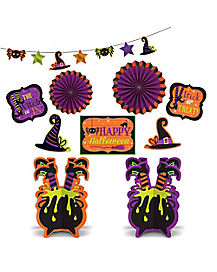 Witch Décor Kit – Decorations