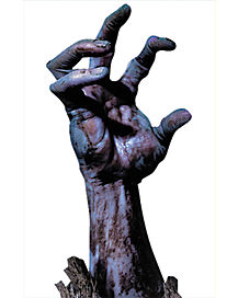 Zombie Hand Window Cling - Decorations
